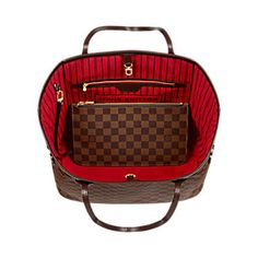 Neverfull MM Tela Damier Ebène - Borse e portadocumenti | LOUIS VUITTON