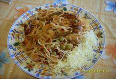 Fusilli, Rigatoni, Bacon, Spaghetti, Ethnic Recipes, Food, Essen, Meals, Yemek