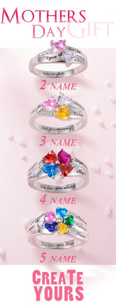 Jewelry & Watches Contemplative Gold Plating Love Handwritten Design Heart Fashion Simulated Diamond Silver Ring Rings