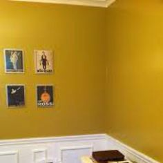 Mustard color for dining nook