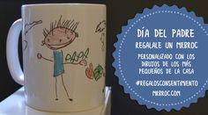 Si quieres un regalo personalizado con dibujos, más económico que el resto de productos MrBroc, opta por nuestras Broc Tazas y personaliza la tuya con los dibujos de los hijos, nietos, sobrinos... Un regalo perfecto y barato para el Día del Padre. ¡Encarga tu regalo antes del 10 de marzo 2016 para que llegue a tiempo! #regalosparaPapá #regalosparaelAbuelo #regalospersonalizados #tazasdeceramicapersonalizadas #regalosoriginales #DíadelPadre