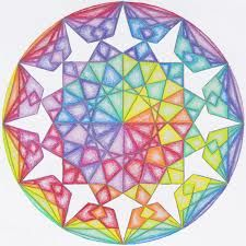 keizerskroon - Google zoeken Geometric Drawing, Geometric Art, Geometric Designs, Chalkboard Drawings, Chalkboard Art, Watercolor Mandala, Mandala Art, Rainbow Art, Rainbow Colors