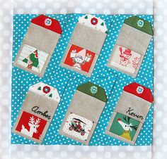 (Christmas/winter) Christmas Gift Tags block for Amber - Ringo Pie Bee   Flickr - Photo Sharing!