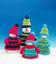 Stak Tree Snowmen