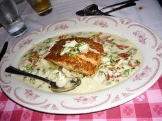 Maggiano's Restaurant Copycat Recipes: Salmon Oscar