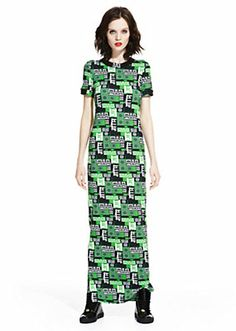 Versus Versace Women M.I.A. LONG T-SHIRT DRESS