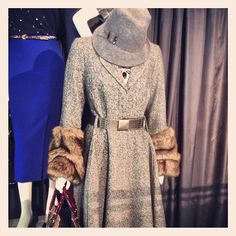 We're cooing over this statement coat for winter. #mandsaw13
