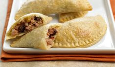 The honey mustard in these ham empanadas gives them an extra boost of flavor.