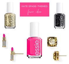 Kate Spade Themed Bridal Shower Favor Ideas