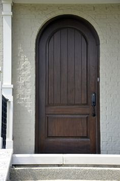 After Front Door Finished With Black Walnut Stain It By