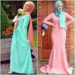 Hijab Fashion Pastel Trends 2013