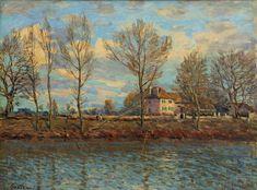 La Grand Jatte, 1873. By Alfred Sisley.