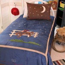 Cowboy Comforter Set