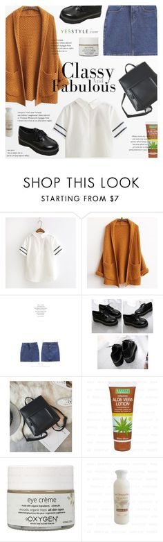 """""""YesStyle Polyvore Group """"Show us your YesStyle"""""""" by novalikarida ❤ liked on Polyvore featuring MyFiona, Winter, ootd, cardigan and yesstyle"""