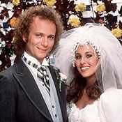 Luke & Laura - General Hospital. The second most famous 80's wedding