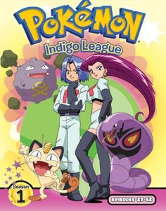 534b38b8b1 Pokemon  Indigo League - Season One
