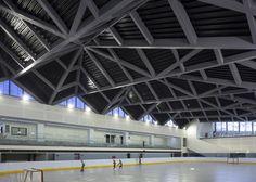 Чжунхэ спортивный центр в Тайване имеет капюшон форме
