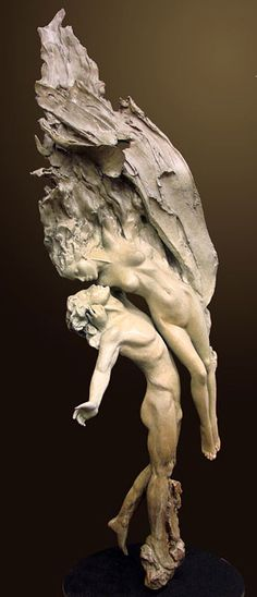 Angel's Kiss (by Ira Reines) [sculptural]