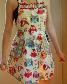 <3 <3 <3 <3 <3!  I have to find this fabric and make this! If anyone knows who makes this fabric, please let me know.