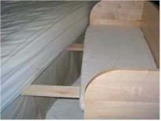 baby bunk infant sleeper -- co-sleeping. I am getting Joel or my dad to make this!!
