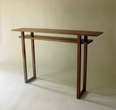 Narrow Bar Table: Console Table, Breakfast Bar, Narrow Sofa Table  Mid  Century Modern Furniture  CLASSIC COLLECTION
