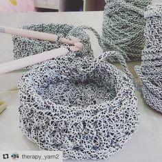 #Repost @therapy_yarn2 with @repostapp Вы посмотрите, какая пряжа!я такую ещё не видела! Тут уже хочется применить приставку не Эко, а НАНО она как живая #вяжутнетолькобабушки#вязание#knitting#knitstagram#необычнаяпряжа#неэкотакнано#охужэтиприставки