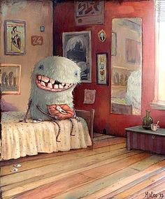 Waiting For The Tooth Fairy~ Aw, Just Look At That Smile ( Even The Tooth Is Grinning!) ~Marco Bucci