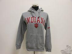 Mens OVB Indiana University Hoosiers Hoody Sweatshirt sz S Small SEWN Big 10 #OVB #IndianaHoosiers #tcpkickz