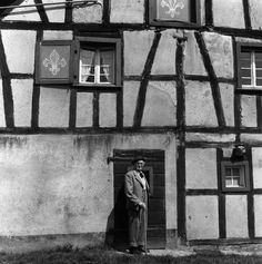 Imogen Cunningham, August Sander, Photographer, and His House, Leuscheid, Germany,