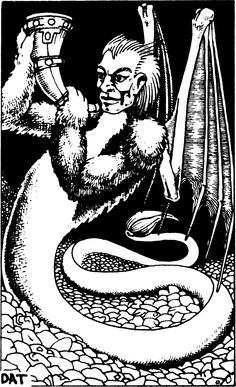 Geryon (from the 1st Edition Monster Manual).