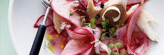 Radijsjes met gerookte forel -                         Libelle Lekker