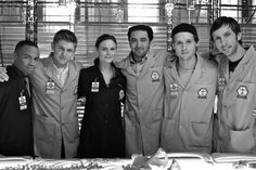 "Dr. Temperance ""Bones"" Brennan & her Squinterns"