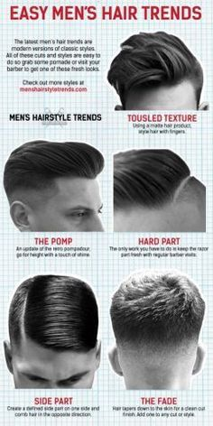 awesome 6 men's hairstyles for 2016! Men's fashion always at the top on Www.mdvstyle.coM...