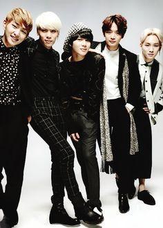 SHINee Onew, Jonghyun, Taemin, Minho, and Key
