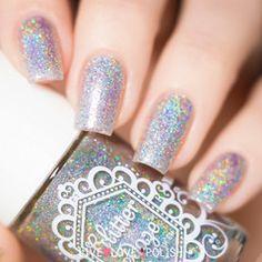 Swatch of Glitter Daze Diamond in the Rough Nail Polish