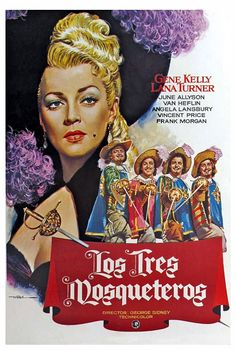 Os Três Mosqueteiros (The Three Musketeers), 1948.