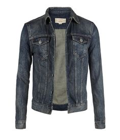 Have no fear. Wear on pants black t-shirts or on white t-shirt and jeans with another lav Denim Jacket Fashion, Denim Jacket Men, Denim Jackets, Leather Jacket, Mens Fashion, T Shirt Branca, T Shirt And Jeans, Denim Shirts, Men's Denim