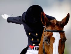 salute - equestrian style