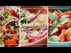 Saladas para o Verão - Receitinhas de Verão #5 - YouTube