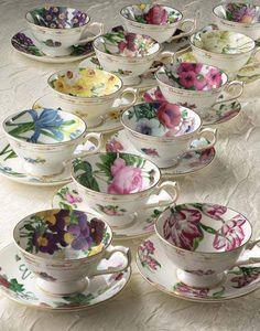 beautiful bone china teacups!