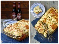 Experimente aus meiner Küche: Faltenbrot mit Kräuterbutter und Käse