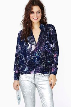 Twisted Cosmos Top in What's New Clothes at Nasty Gal
