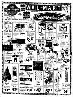 153 best explicable images advertising old advertisements retro Fashion Show Ads wal mart discount city suggestions from santa in jefferson city mo dec 1973