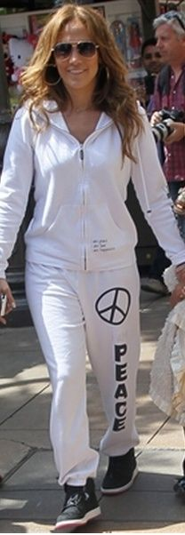 Click Image Above To Buy Peace Love World Peace Low Rise Boyfriend Sweats In Cloud Cloud Large