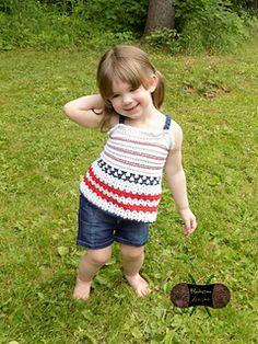 Little Country Girl Tank by Sonya Blackstone