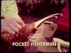 "K-tel ""Pocket Fisherman"" commercial"
