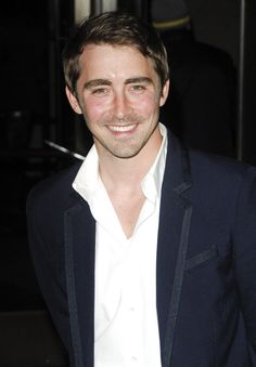 Lee Pace smiling
