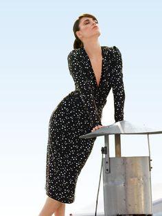Schnittmuster: Jerseykleid - Bindebänder - Cocktailkleider - Kleider - Damen - burda style