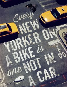 Bike Like a New Yorker  The agency Mother  has designed this very successful campaign for bike-sharing program in New York called BikeNYC.