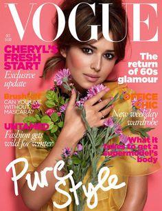 Vogue UK October 2010 - Cheryl Cole
